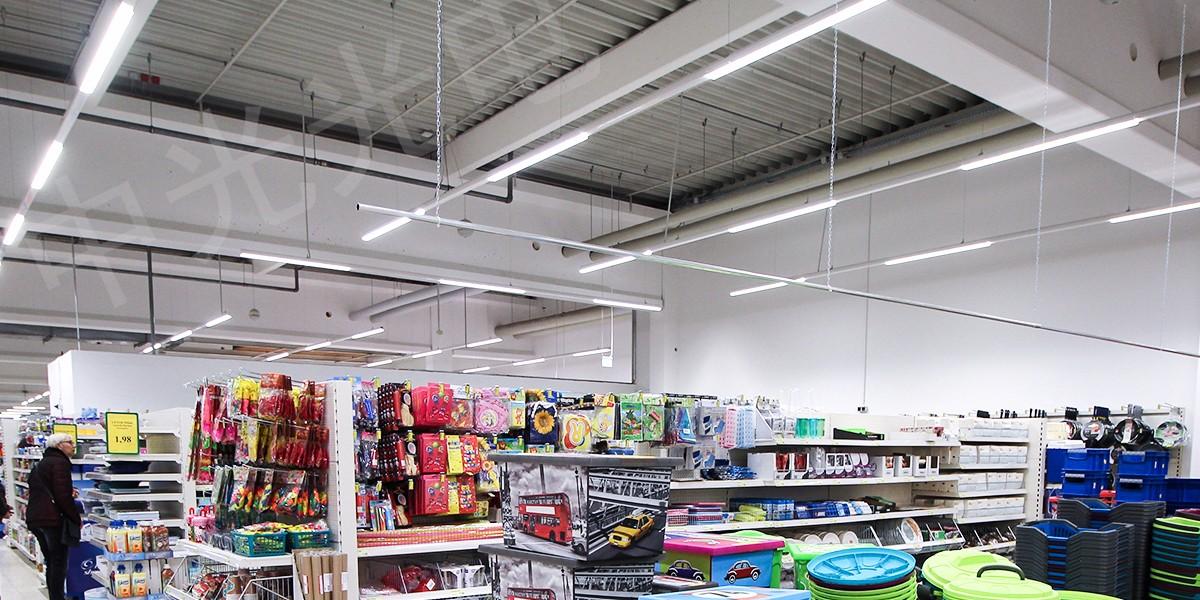 深圳超市线性照明系统